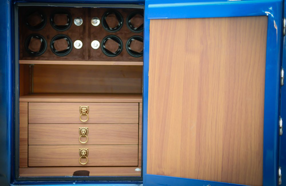 Built-in Safe Cabinet – Custom Jewelry Organizer, Jewelry Safe